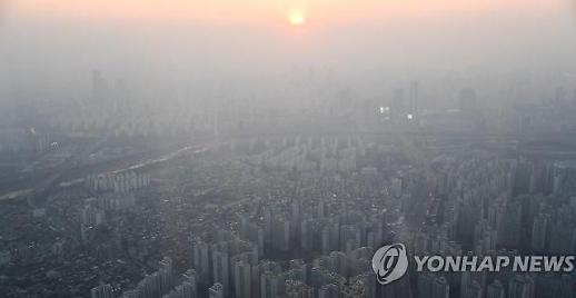 전국 미세먼지 습격…'매우 나쁨'