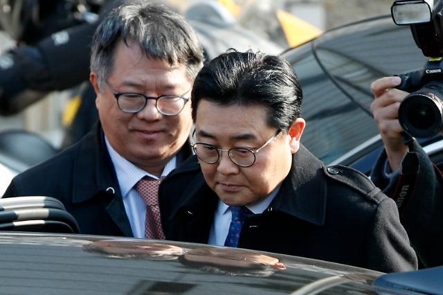 [포토] 전병헌 전 국회의원, 뇌물수수 징역 5년에 벌금 3억5000만원