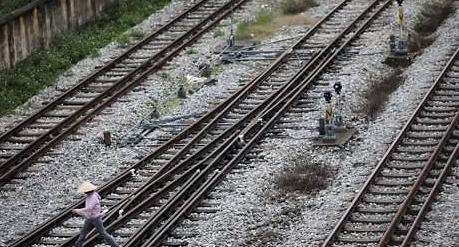 김정은 전용열차로 베트남 가나