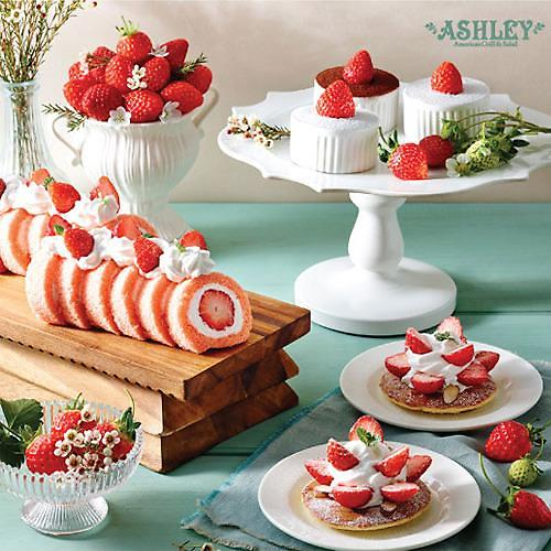 애슐리 w 딸기축제…애슐리가 추천하는 딸기 메뉴는?
