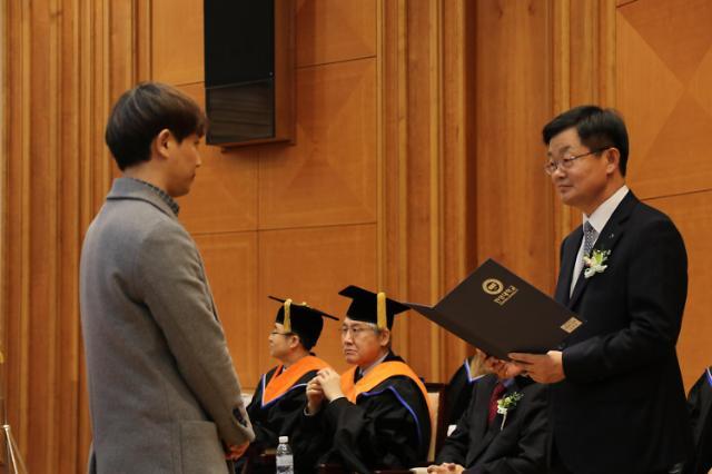 한국부동산개발협회-문주장학재단, 한양대에 2000만원 장학금 전달