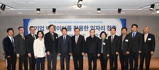 한국기업데이터, 빅데이터 활용 일자리 창출 국제학술대회 개최
