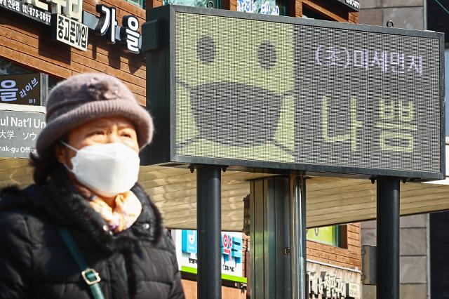 [오늘의 미세먼지] 토요일 수도권 미세먼지 '나쁨'…비상저감조치 연속 발령