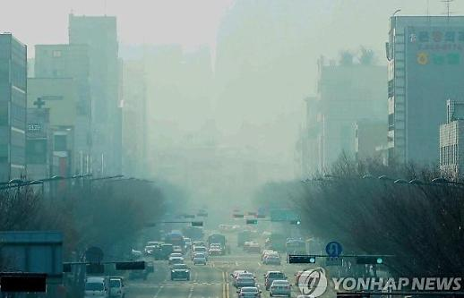 오늘도 전국 미세먼지 '나쁨'…숨 막히는 하늘