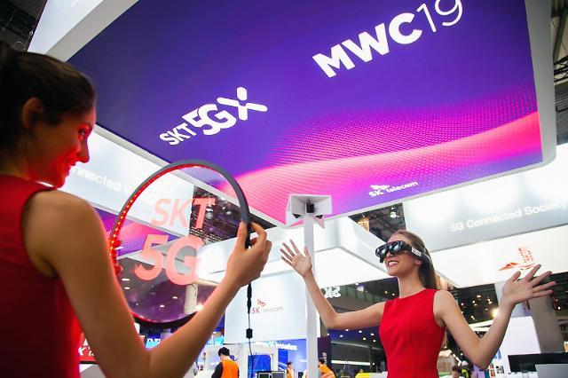 [MWC 2019] SK텔레콤, 5G 커넥티드의 모든 것 보여준다