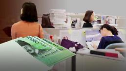 .调查:近4成韩国女性为低收入劳动者.