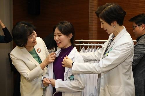이대목동병원, 인턴 임용 맞이 가족 초청 행사 개최
