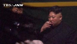 .TV footages show Kim taking smoke break en route to Vietnam: Yonhap.