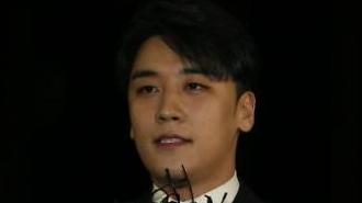 """'마약·성접대 의혹' 승리 경찰 자진출석…""""마약검사 받겠다"""""""