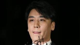 """'마약·성접대 의혹' 승리 경찰 출석…""""마약검사 포함 성실히 조사받겠다"""""""