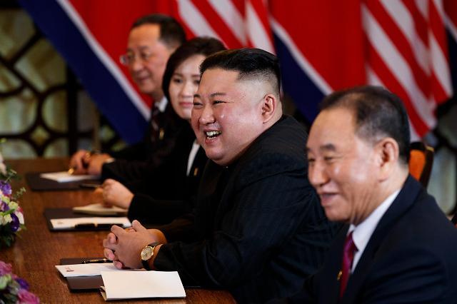 朝美领导人举行双边扩大会议
