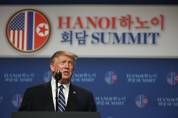 特朗普:金正恩承诺不再进行核试验 谈判破裂与放宽制裁有关