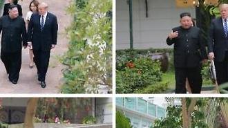 [포토/2차 북미정상회담] 북한이 보도한 호텔 산책
