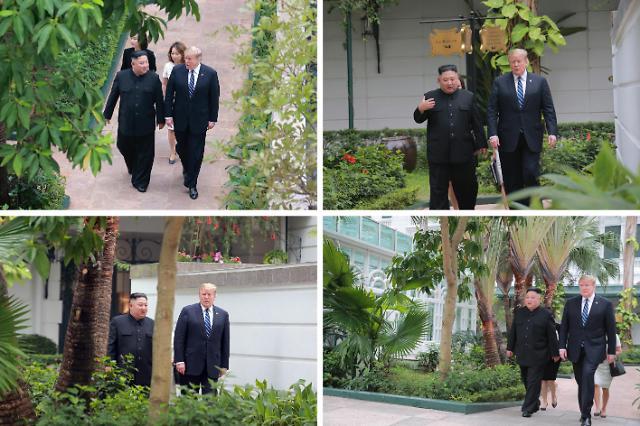 朝美首脑散步