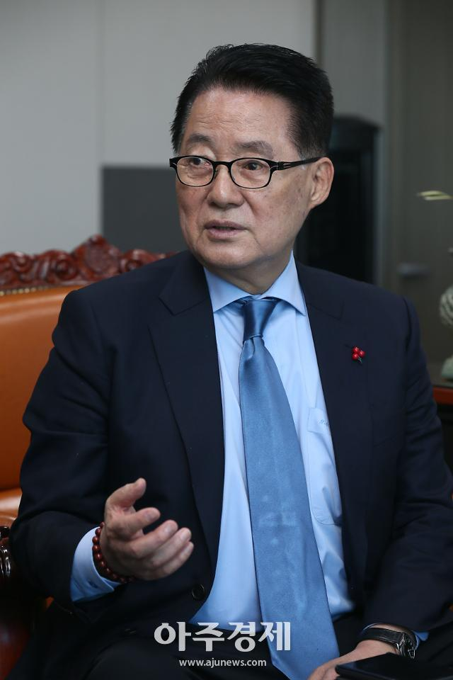 """[하노이회담 결렬] 박지원 """"김정은, 트럼프 부동산 투기식 거래술에 뒤통수"""""""