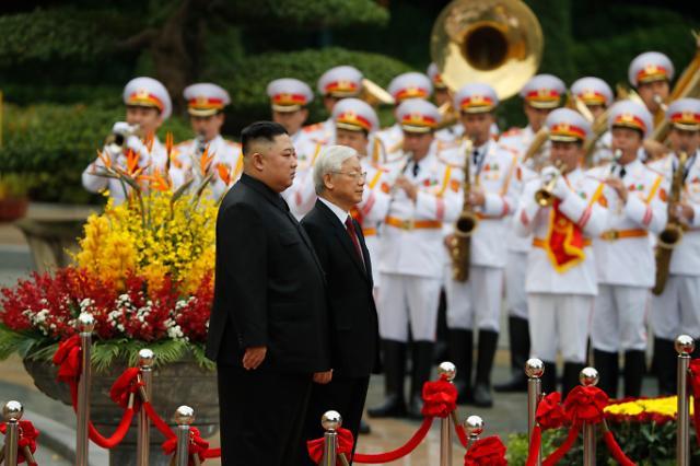 金正恩对越南进行国事访问