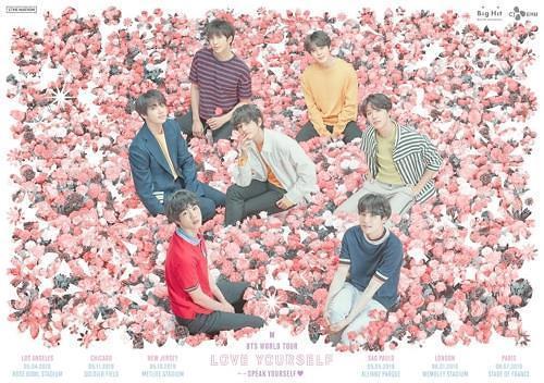 BTS世巡演五城市门票售罄