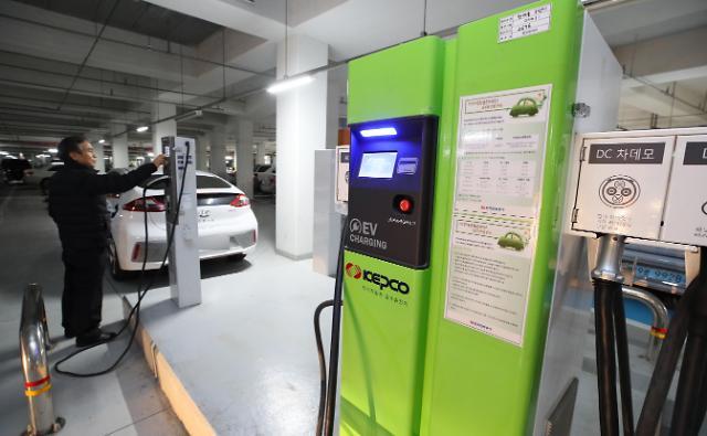 韩清洁能源汽车需求旺 市场份额已达8.2%