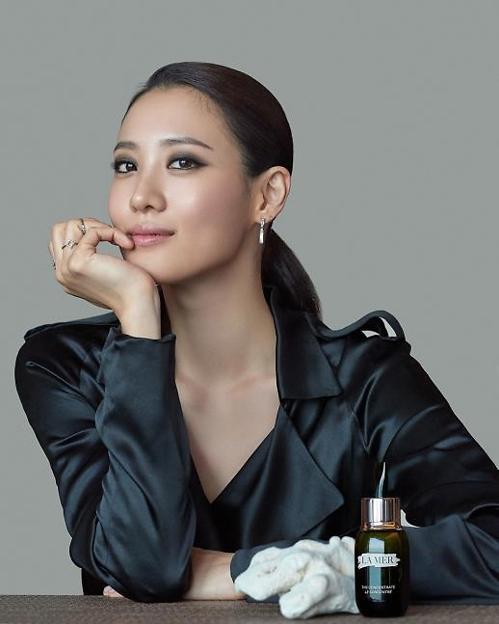秀贤成为顶级化妆品牌海蓝之谜代言人