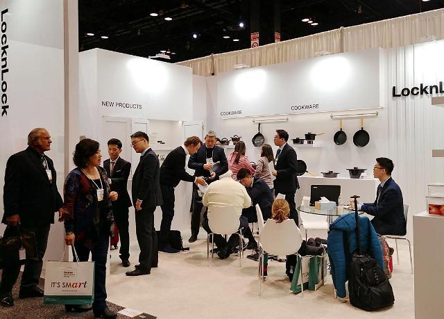 락앤락, 미국 국제 가정용품 박람회 참가…맞춤형 제품 선보여