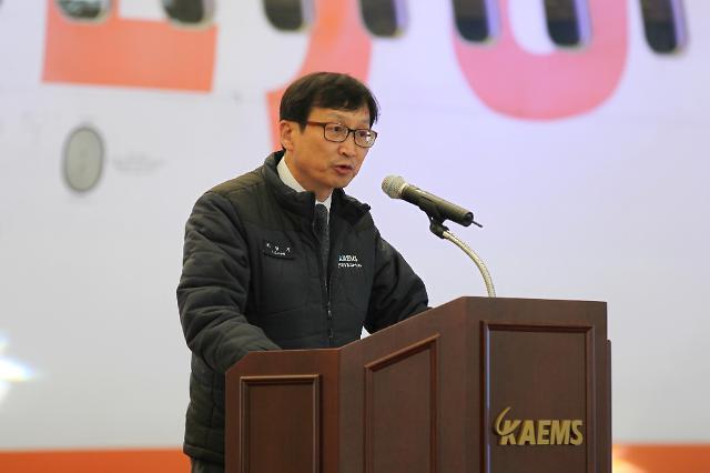 """[아주초대석] 조연기 KAEMS 대표이사 """"국내 MRO 이제 시작… 고부가가치로 나아갈 것"""""""