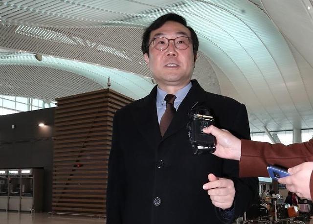 比根李度勋确定明日会晤 韩美日三方会谈的可能也很大