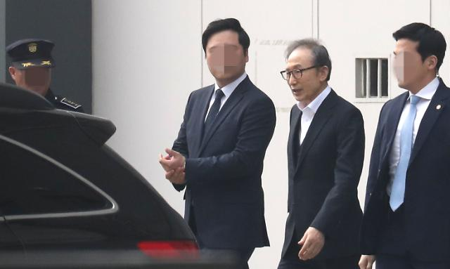 Appeals court releases ex-president Lee Myung-bak on rare conditional bail