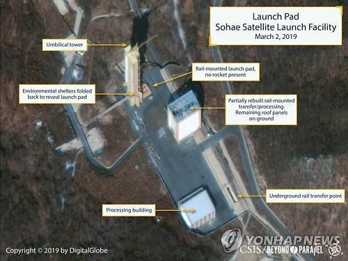 [글로벌포토]북미 긴장 높이는 북한 동창리