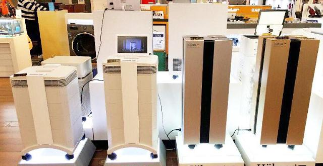 韩国连日雾霾带动空气净化器销量猛增