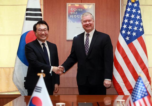 韩外交部:争取韩美外长月内会晤