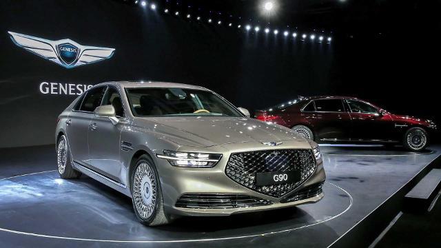 韩国国产大型豪车近4个月销售增势明显