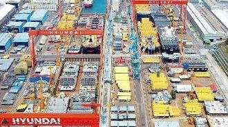 Hyundai Heavy ký hợp đồng chính thức để tiếp quản công ty đóng tàu Daewoo