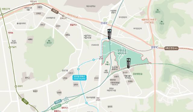 희소성 높은 서울시내 공공택지, 서울 양원지구 분양 본격화