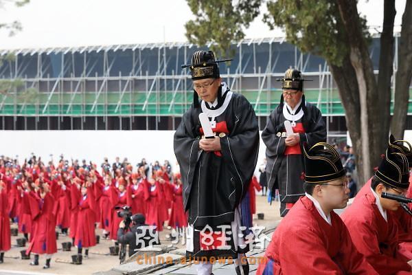 2019成均馆春季释奠大祭