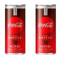 韓国コカ・コーラ、コーラとコーヒーをダブルに味わう「コーヒーコカ・コーラ」発売