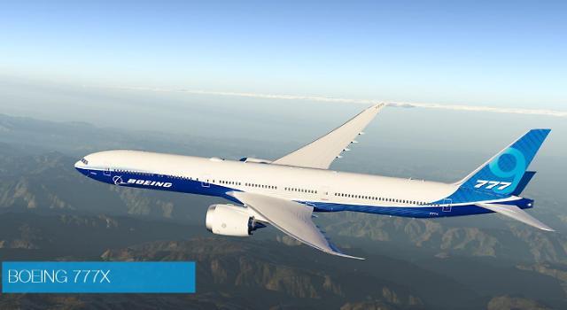 """보잉社 """"보잉 777X 공개 행사 무기한 연기""""…에티오피아항공 추락사고 영향"""