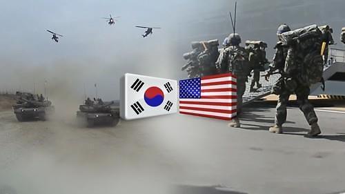 韩美新指挥所联演今结束