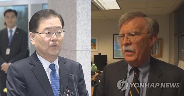 정의용, 미국·중국과 연달아 접촉…북핵 중재외교 나서나