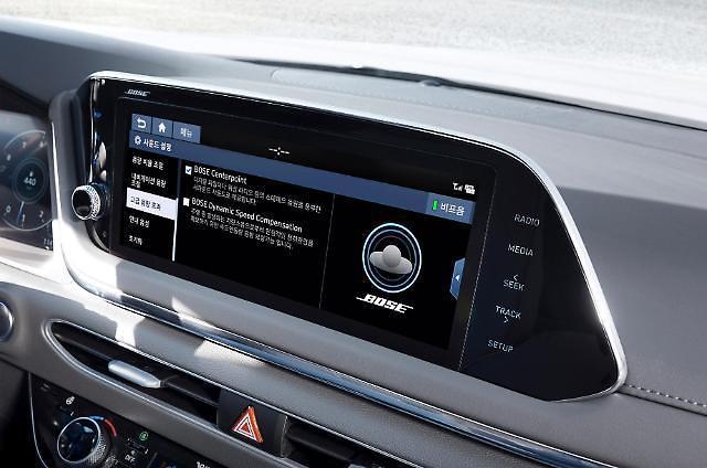 现代汽车首次与BOSE合作 新款索纳塔将配备高品质音响系统