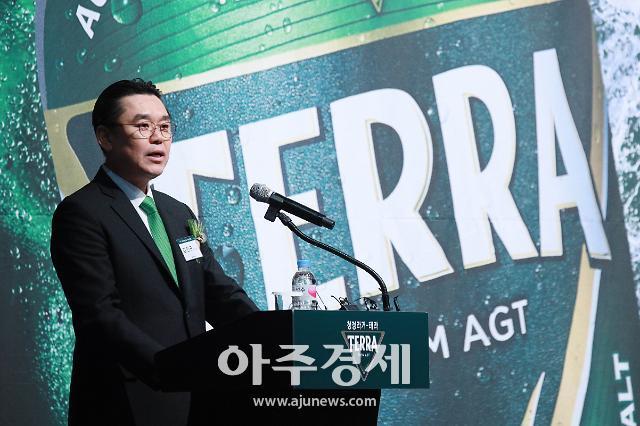 5년 공들인 녹색 청정라거 '테라'…잊혀진 맥주명가 영광 재현