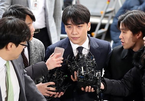BIGBANG胜利到首尔地方警察厅接受调查