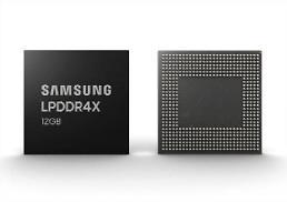 .三星电子将批量生产业界首款12Gb移动DRAM.