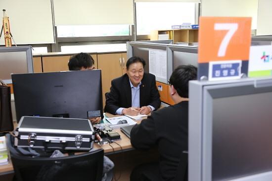 이계문 신복위원장, 의정부서 서민금융 현장 간담회 개최