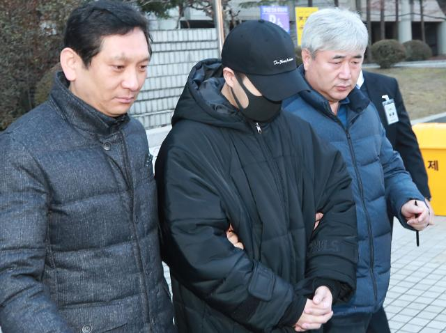 음주운전 4차례 손승원, 윤창호법 적용해 징역 4년 구형
