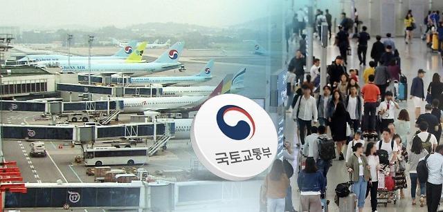 中韩两国间航班增加到每周608次