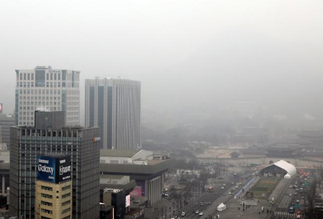 韩去年因雾霾或损失4万亿韩元