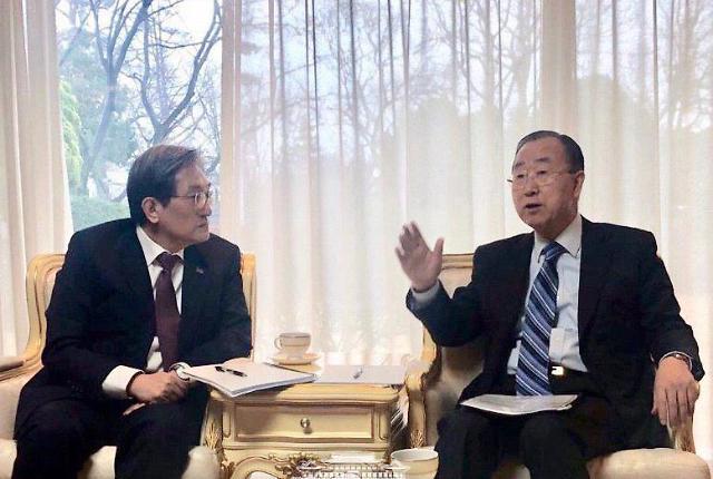 前联合国秘书长潘基文将任韩治霾机构主席
