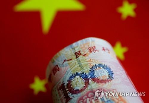 중국 위안화 고시환율(25일) 6.8580위안...0.11% 가치 하락