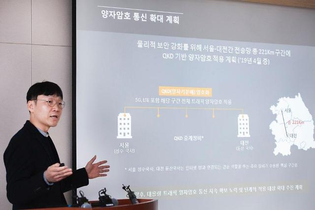 SK텔레콤, 양자암호통신 기술로 5G 보안 걱정 싹~~