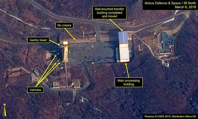 统一部:朝鲜东仓里异动或为爆破弃导